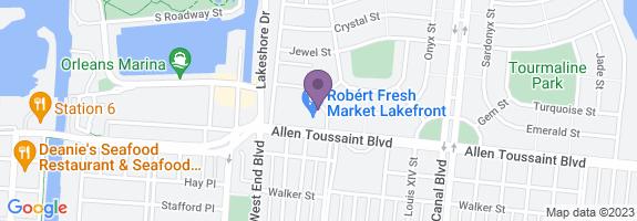 Robert Fresh Market #131 Map