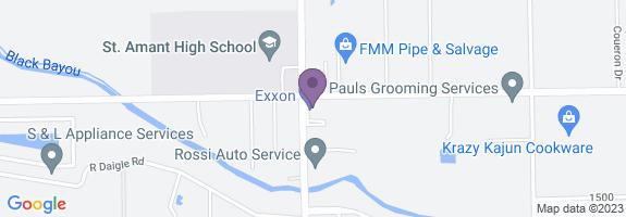Pit Stop Exxon Map