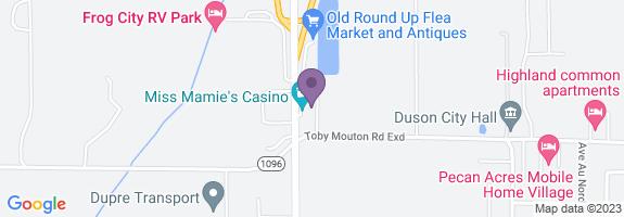 Duson C-store Map
