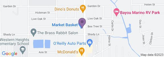 Market Basket #39 Map