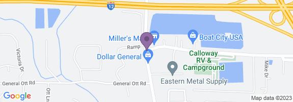 Miller's Mart Map