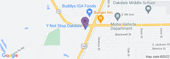 Circle K #0288 Map