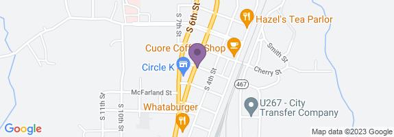 Circle K #2707748 Map