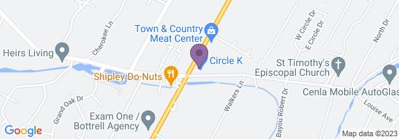 Circle K #7769 Map