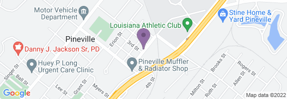 Pineville Fast Stop Map