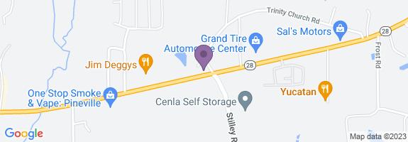 Pineville Citgo Map