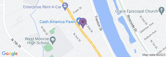 Cypress Street U-pak-it Map
