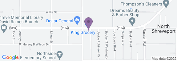 King Snack & Grocery Map