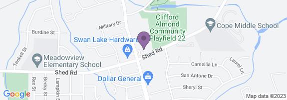 Swan Lake Food Mart Map
