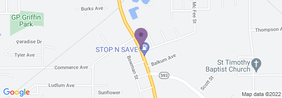 Stop N Save #818 Map