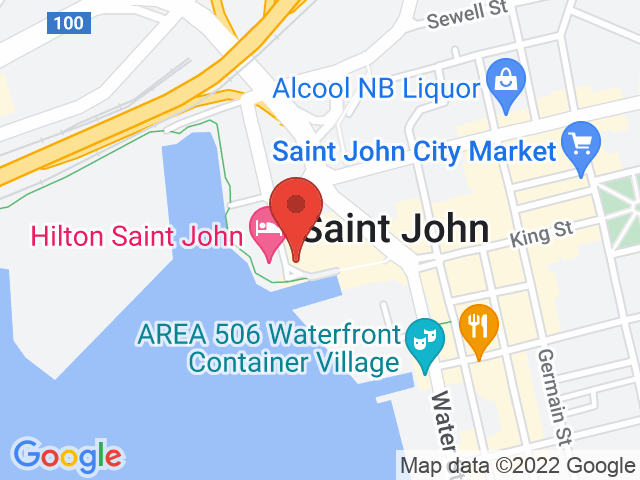 Google Map: Saint John, NB