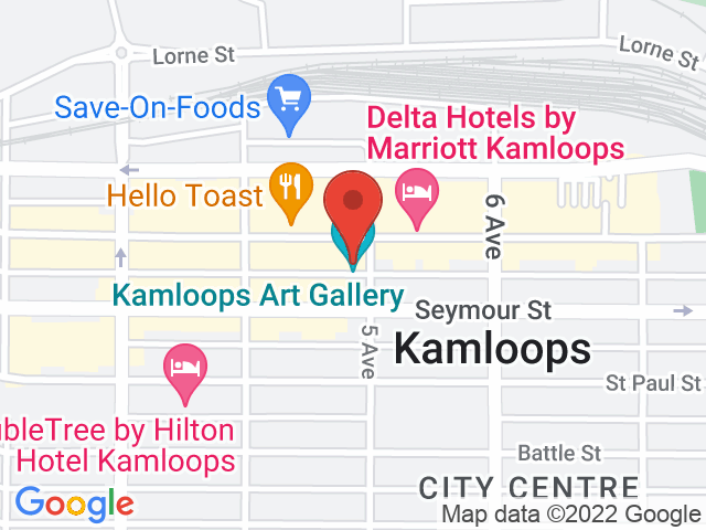 Google Map: Kamloops, BC