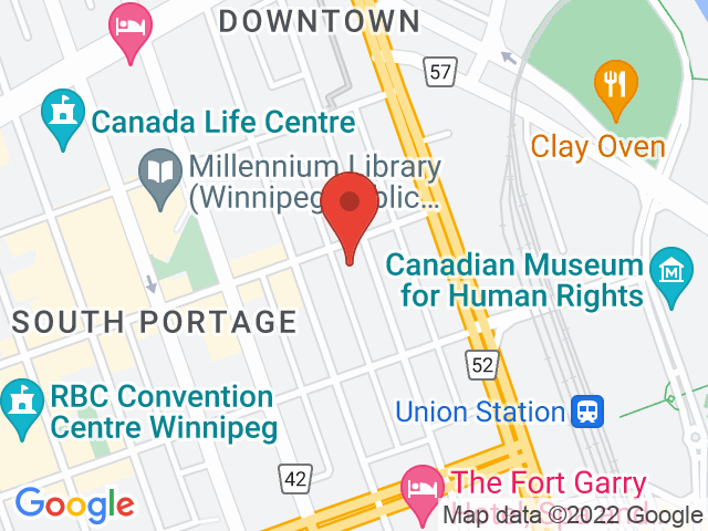 Google Map: Winnipeg, MB