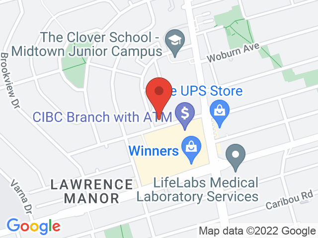 Google Map: Toronto, ON