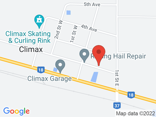 Google Map: Climax, SK