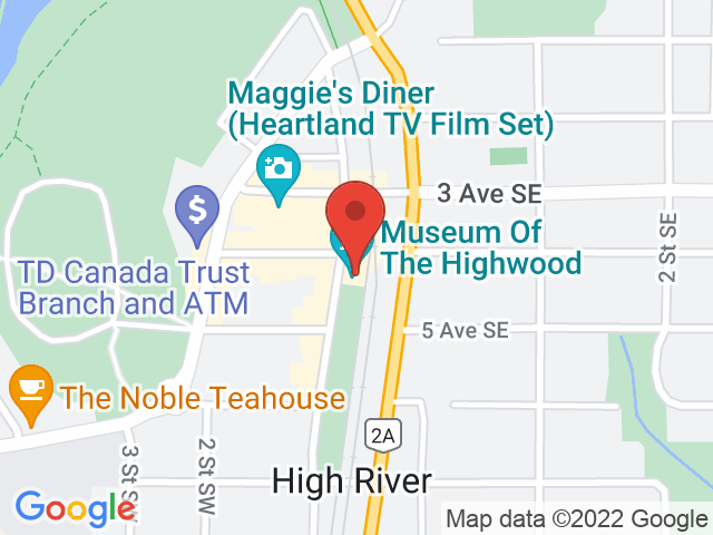 Google Map: High River, AB
