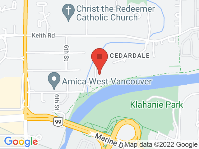 Google Map: West Vancouver, BC