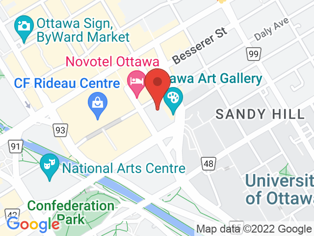 Google Map: Ottawa, ON