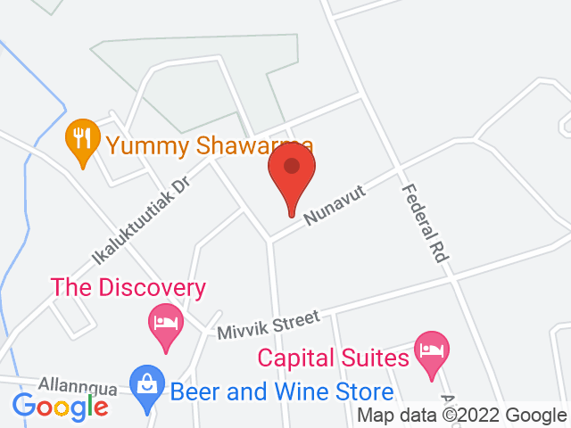 Google Map: Iqaluit, NU