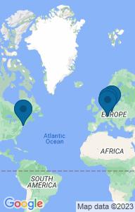 Google Static Map mit Projektstandorten