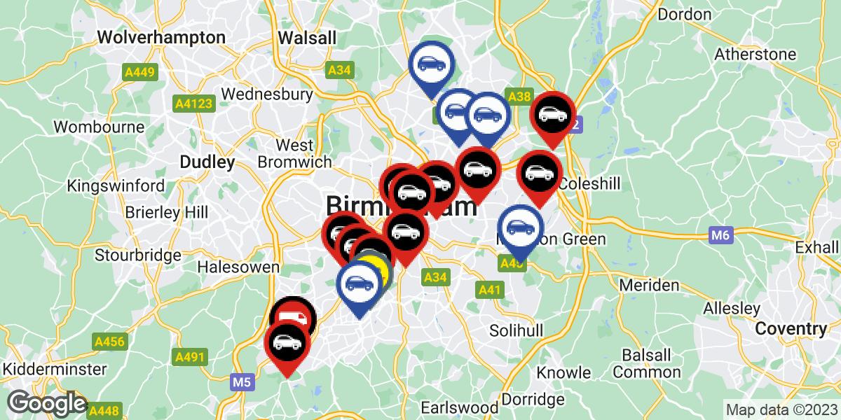 tyres in Birmingham