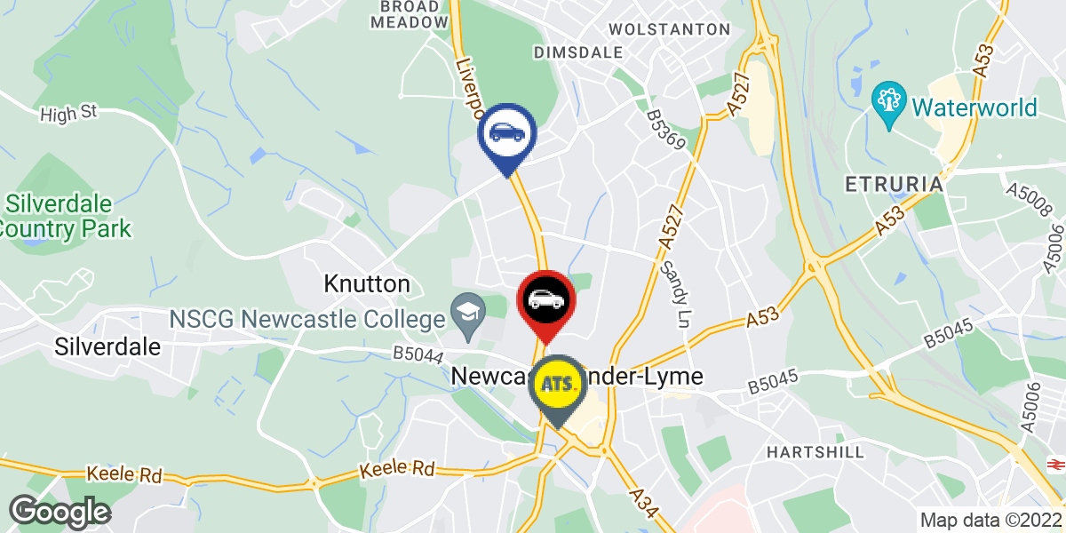 tyres in Newcastle Under Lyme