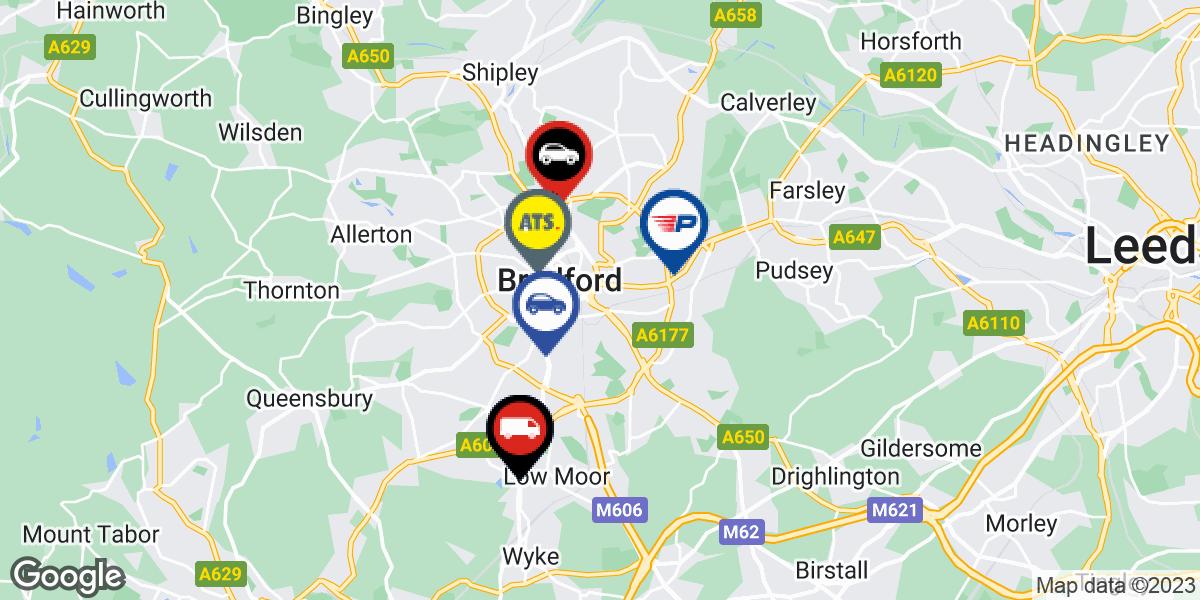 tyres in Bradford