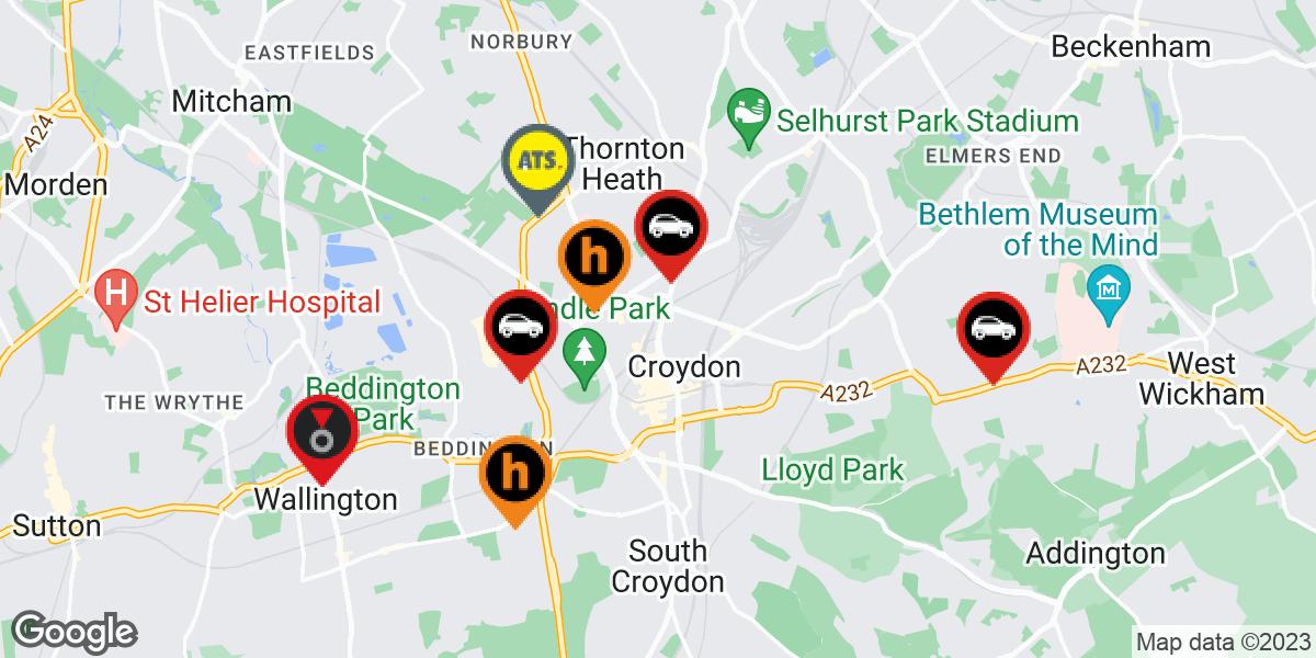 tyres in Croydon