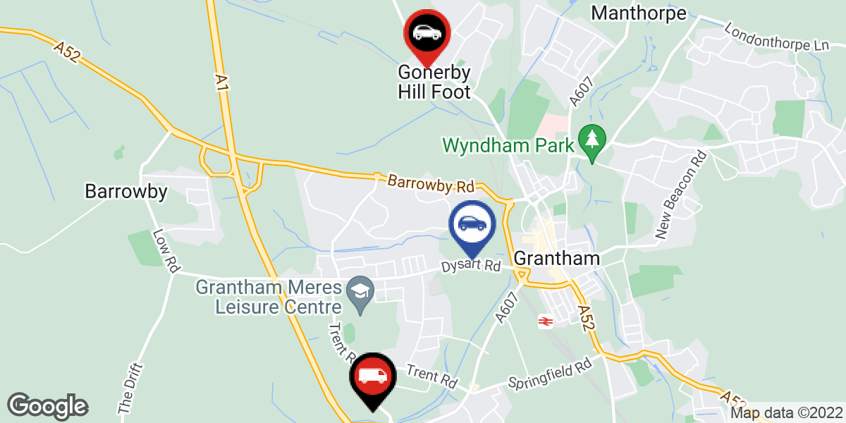 tyres in Grantham