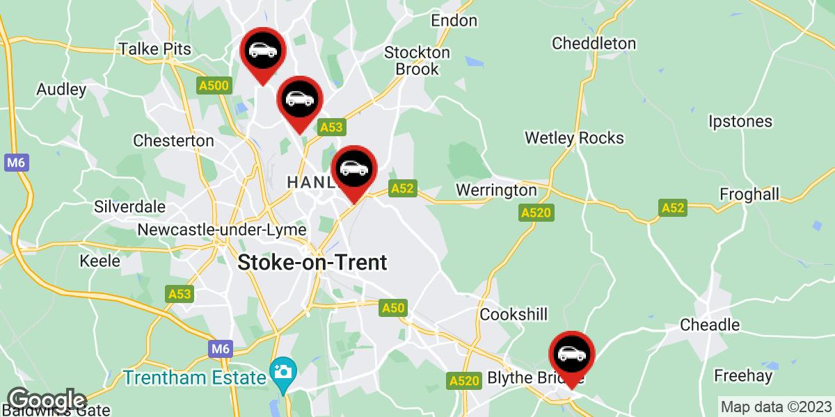 tyres in Stoke on Trent