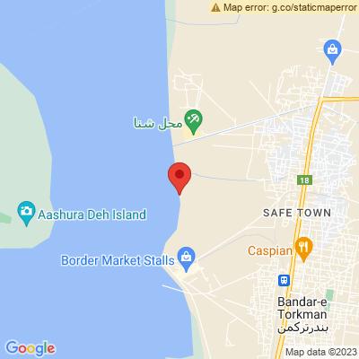 ساحل بندر ترکمن