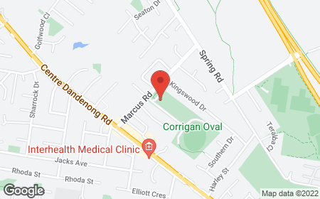 Map with address 31C Marcus Road , Dingley Village 3172