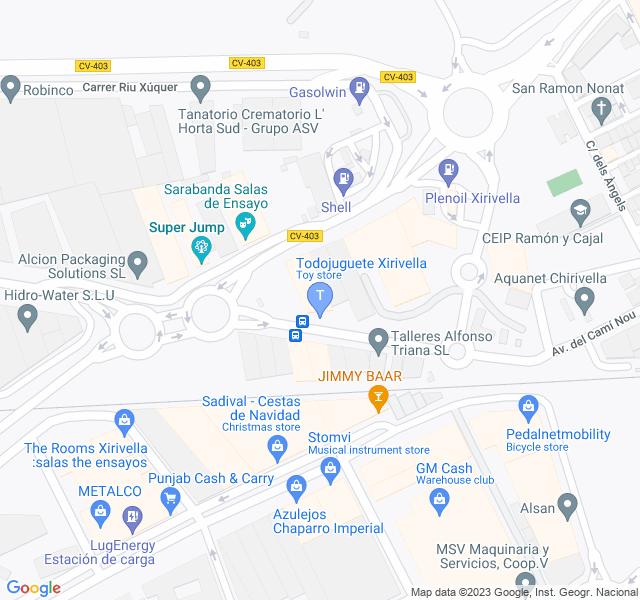 Mapa Tienda Todojuguete