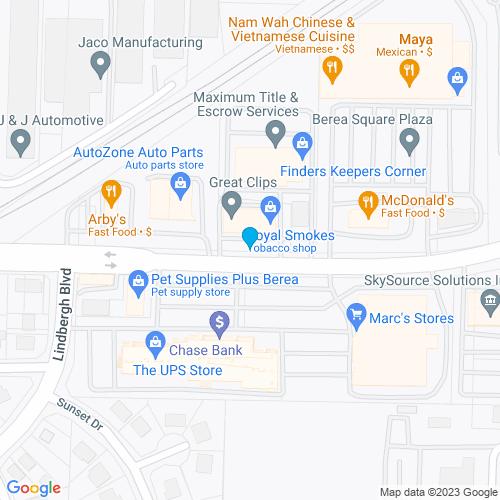 Map of Berea, OH