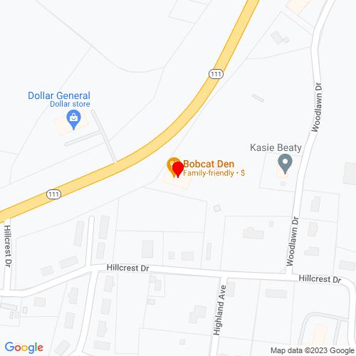 Map of Byrdstown, TN
