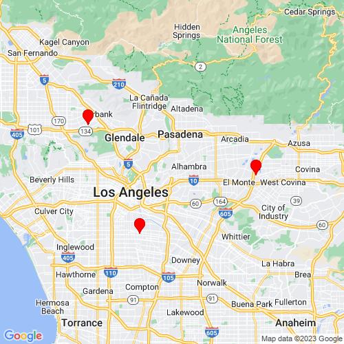 Map of Camarillo, CA