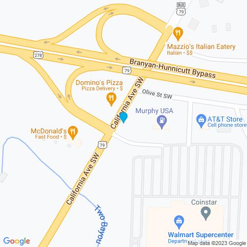 Map of Camden, AR