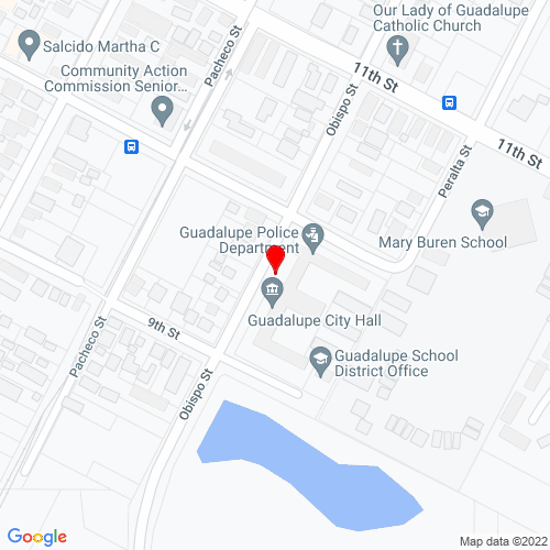Map of Guadalupe, CA