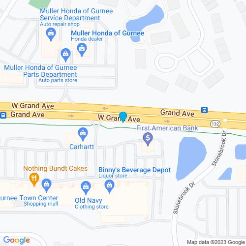 Map of Gurnee, IL