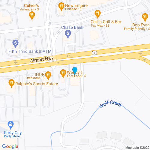 Map of Holland, OH