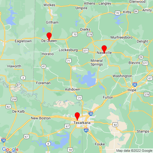 Map of Hope, AR