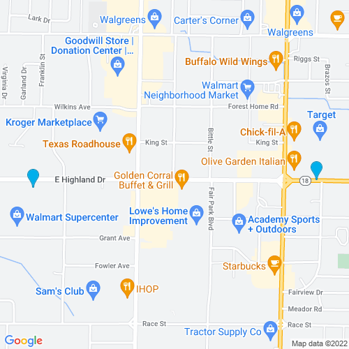 Map of Jonesboro, AR