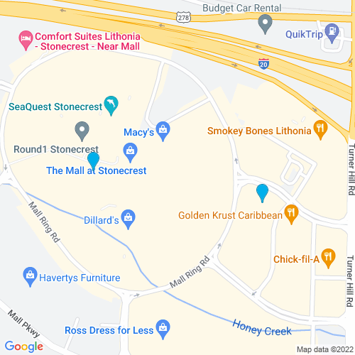 Map of Lithonia, GA