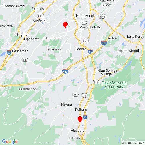 Map of Northport, AL