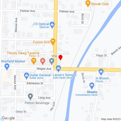 Map of Patton, PA