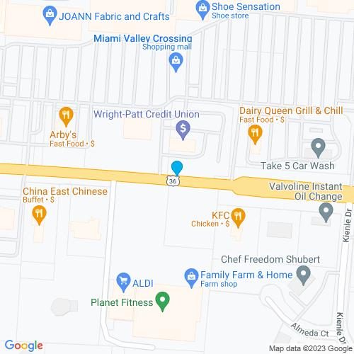 Map of Piqua, OH