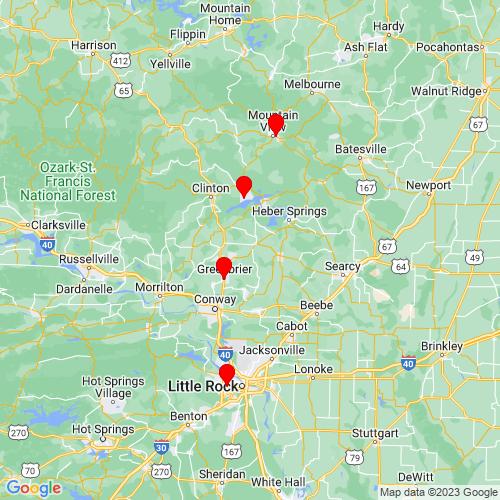 Map of Romance, AR