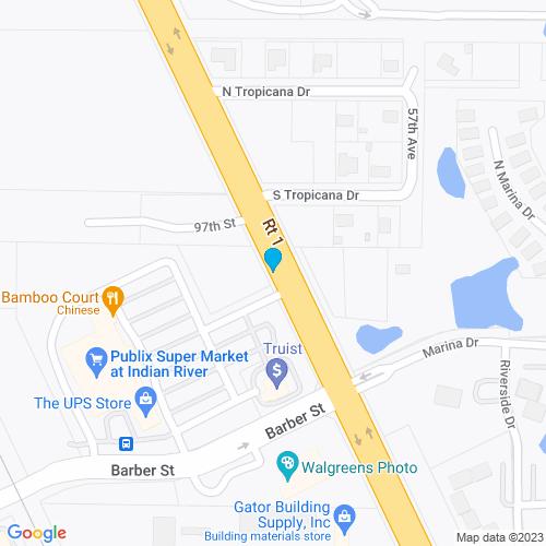 Map of Sebastian, FL