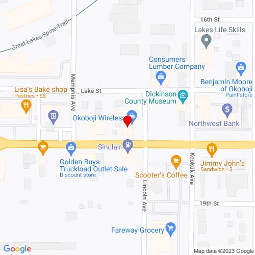 Map of Windom, MN