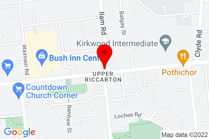 Map of 1+Ilam+Rd,+Riccarton%2FIlam,+Christchurch